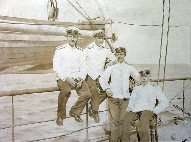 фото морских офицеров до революции мифологии