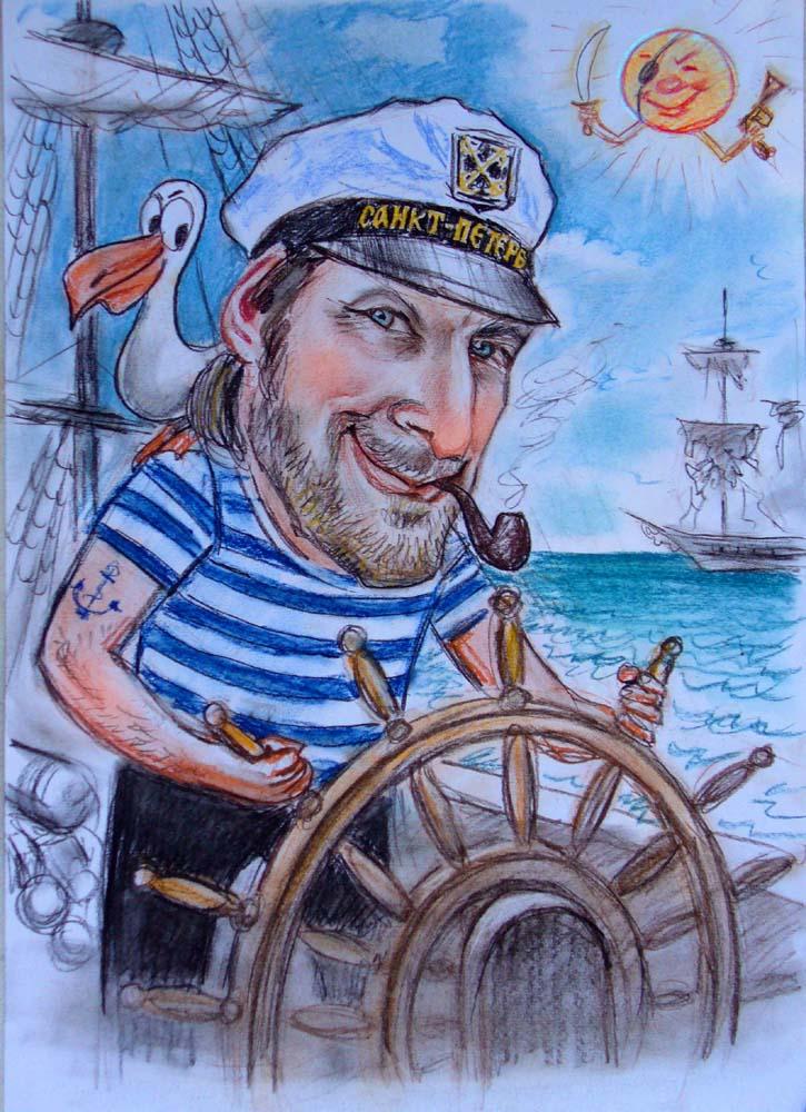 Светке, прикольные открытки с моряком