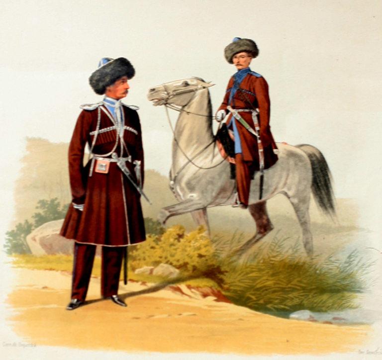 это картинки терских казачьих войск признался