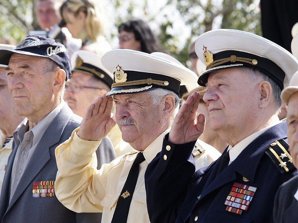 военный пенсионер фото клубном