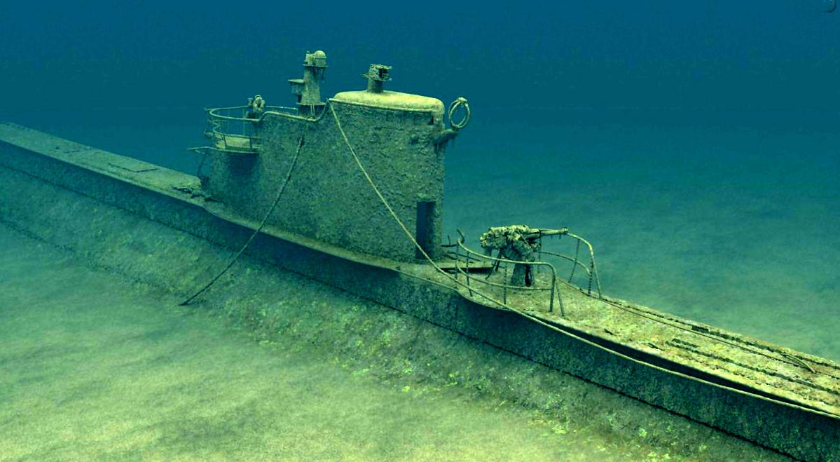 Фото затонувших подлодок